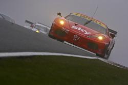 #56 CR Scuderia Ferrari 430 GT2: Andrew Kirkaldy, Rob Bell