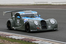 #30 AutoGT Racing Morgan Aero 8 GT3: Frederic O'Neill, Jacques Laffite