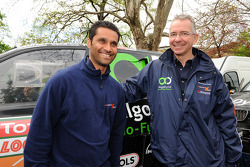 Nasser Al Attiyah and Sven Quandt, Team Principal of X-Raid