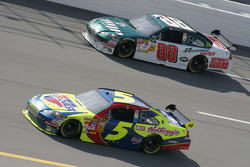 Casey Mears and Dale Earnhardt Jr.