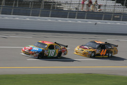 Kyle Busch and David Reutimann