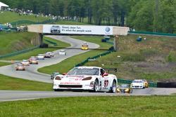 #97 Stevenson Motorsports Corvette: James Gue, John Stevenson