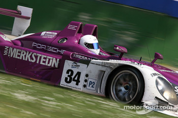 #34 Van Merksteijn Motorsport Porsche RS - Spyder: Jos Verstappen, Peter Van Merksteijn