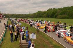 Pre race grid activity