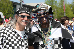 Race fan regulars make their re-appearance on Opening Day