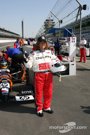 A memorable ride in the Indy Racing Experience two-seater