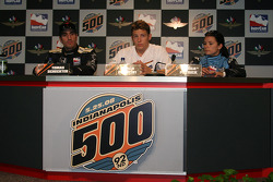 Press conference: Tomas Scheckter, Marco Andretti and Danica Patrick