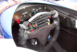 Vitor Meira's steering wheel