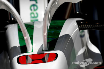 Honda Racing F1 Team, RA108, Detail
