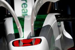Honda Racing F1 Team, RA108, Detail
