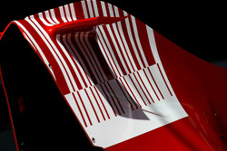Scuderia Ferrari, F2008 , Engine cover Detail
