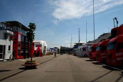 The F1 Paddock