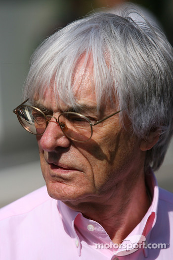 Bernie Ecclestone, President and CEO of Formula One Management