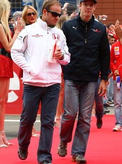 Rubens Barrichello, Honda Racing F1 Team and Sébastien Bourdais, Scuderia Toro Rosso