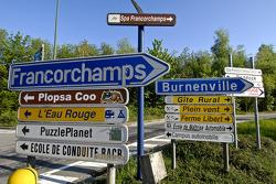 Spa-Francorchamps scenery
