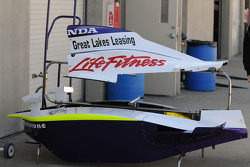 Bodywork for the 91 car driven by Buddy Lazier