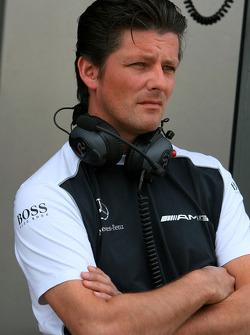 Axel Randolph, Race Engineer of Paul di Resta, Team HWA AMG Mercedes