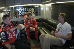 Country singer, Darryl Worley, spends time with Carl Edwards, before qualifying