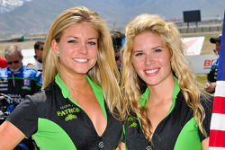 Two charming Patron Tequila girls