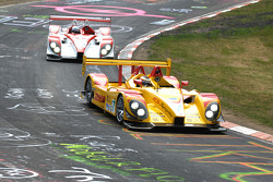 Timo Bernhard and Romain Dumas at Hatzenbach on the legendary Nordschleife