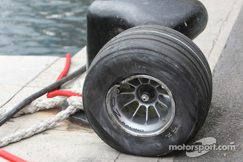 Wheel of David Coulthard, Red Bull Racing