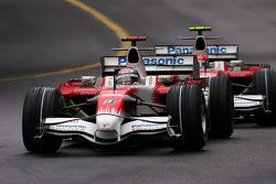 Jarno Trulli, Toyota F1 Team , Timo Glock, Toyota F1 Team