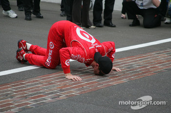 Kissing the Bricks