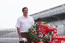 Tony George and Scott Dixon