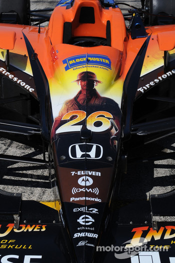 Marco Andretti's car