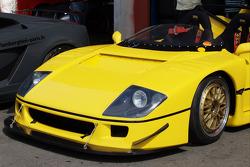 Ferrari F40 LM detail