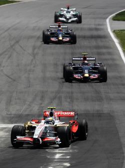 Giancarlo Fisichella, Force India F1 Team, Sebastian Vettel, Scuderia Toro Rosso