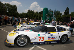 Luc Alphand Aventures Corvette C6.R at scrutineering