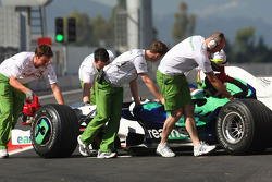 Anthony Davidson, Test Driver, Honda Racing F1 Team