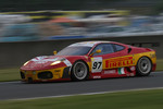#97 BMS Scuderia Italia Ferrari F430 GT: Fabio Babini, Paolo Ruberti, Matteo Malucelli
