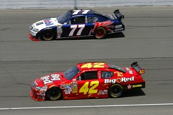 Sam Hornish Jr. and Juan Pablo Montoya
