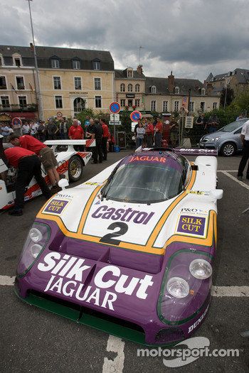 Jaguar Group C car