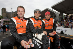 Stuart Moseley, Michael Vergers and Juan Barazi
