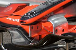 McLaren Mercedes nose detail