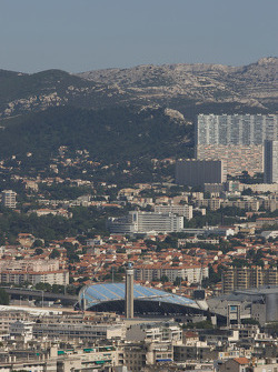 Visit of Marseille: Velodrome football (soccer) stadium home of Olympic Marseille