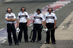 BMW Sauber F1 Team, mechanics