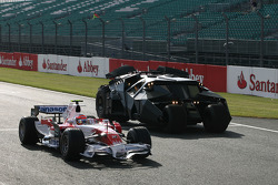 Timo Glock, Toyota F1 Team and the Bat mobile