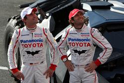 Timo Glock, Toyota F1 Team and Jarno Trulli, Toyota Racing