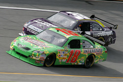 Kyle Busch and David Gilliland