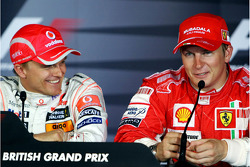 Press conference: Heikki Kovalainen and Kimi Raikkonen