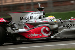 Lewis Hamilton, McLaren Mercedes / just before 12h break LH tested an new engine cover