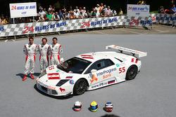 #55 Interprogressbank Spartak Lamborghini Murcielago: Peter Kox, Roman Rusinov, Mike Hezemans