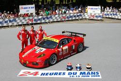 #78 AF Corse Ferrari F430 GT: Thomas Biagi, Christian Montanari, Toni Vilander