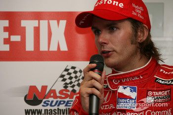 Post-race press conference: Dan Wheldon