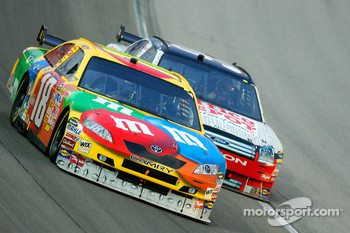 Kyle Busch and David Ragan