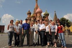 Nico Rosberg and friends